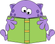 monster-reading-a-book