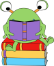 two-eyed-monster-reading-book